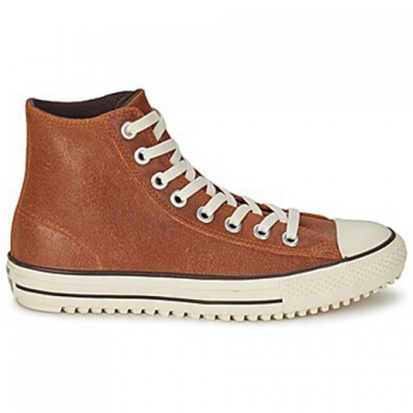 Converse All Star Boot Vintage Leather Hi Brown Wo...