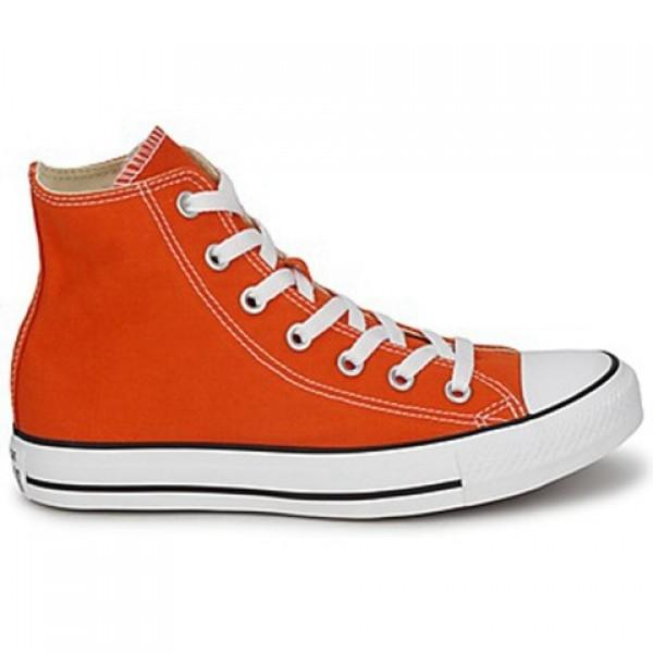 Converse All Star Season Hi Orange Women's Shoes