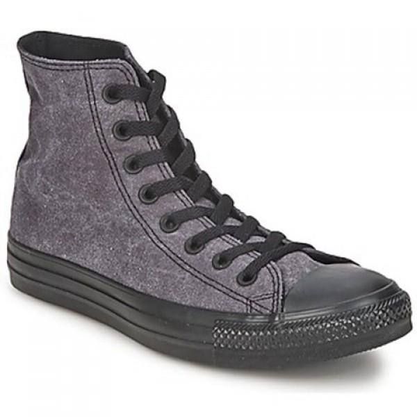 Converse All Star Basic Vintage Hi Jet Black Women's Shoes
