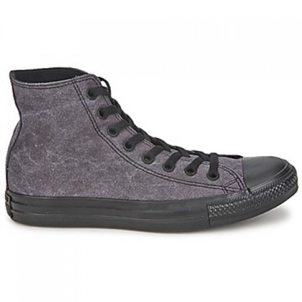 Converse All Star Basic Vintage Hi Jet Black Women...