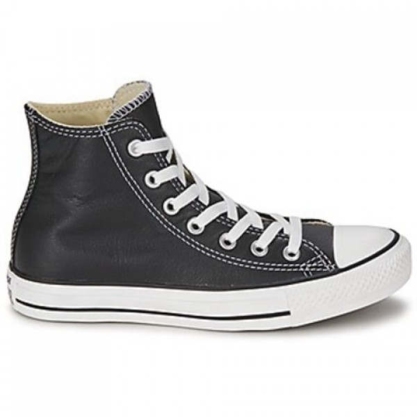 Converse All Star Core Leather Hi Black Women's Sh...