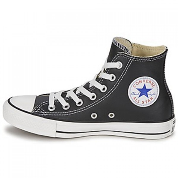 Converse All Star Core Leather Hi Black Women's Shoes