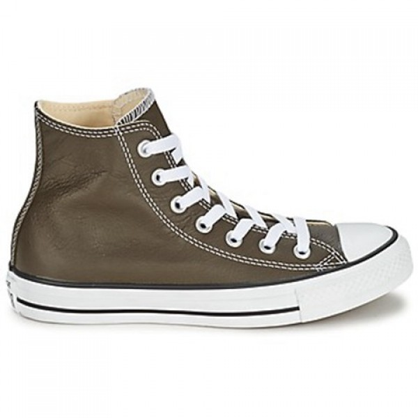 Converse All Star Seall Staron Hi Brown Dark Women...