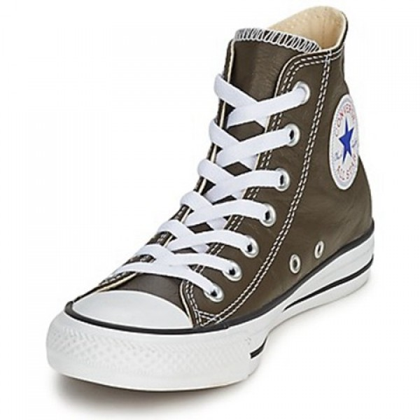 Converse All Star Seall Staron Hi Brown Dark Women's Shoes