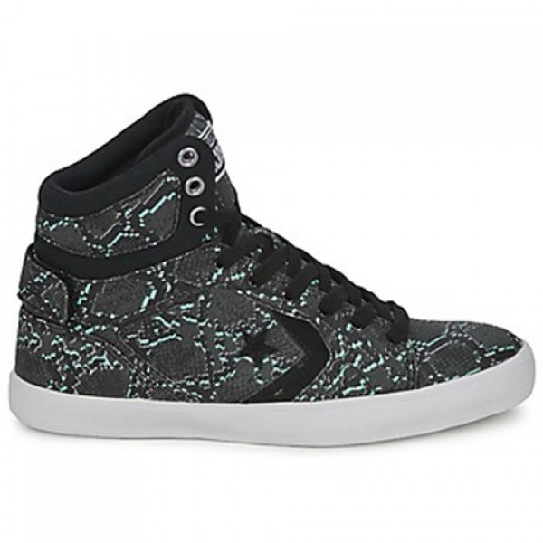 Converse All Star 12 Snake Mid Black Multi Women's...