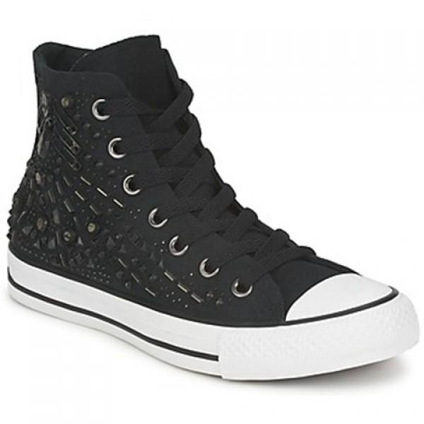 Converse All Star Hardware Hi Black Women's Shoes