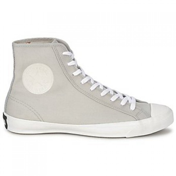 Converse All Star Trainer Canvas Hi Grey Clear Women's Shoes