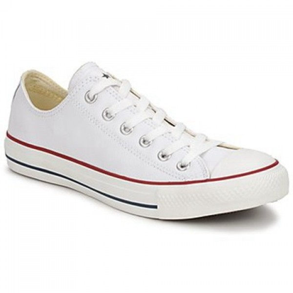 Converse All Star Leather Ox White Women's Shoes