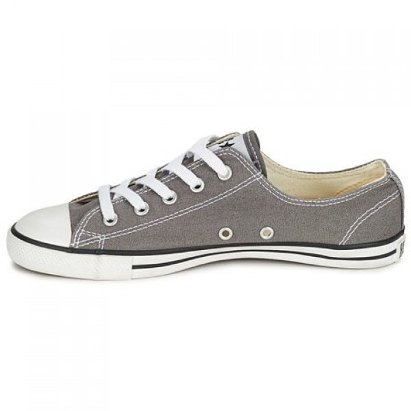 Converse All Star Dainty Canvas Ox Anthracite Women's Shoes
