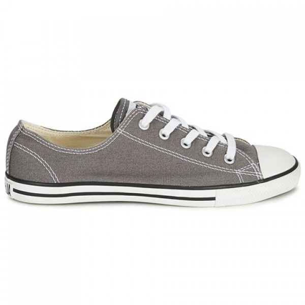 Converse All Star Dainty Canvas Ox Anthracite Wome...