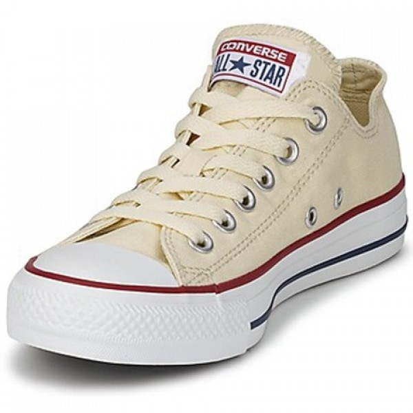 Converse All Star Core Ox White Beige Women's Shoes