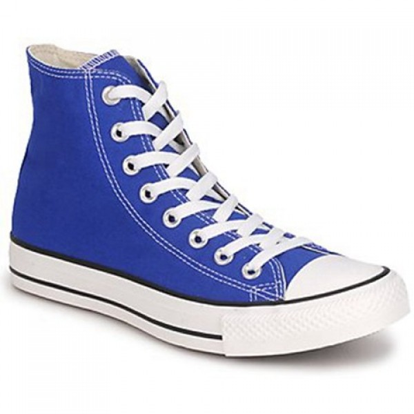 Converse All Star Hi Blue Petant Women's Shoes