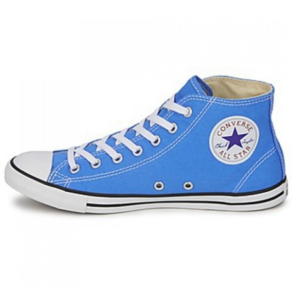 Converse All Star Dainty Mid Blue Women's Shoes