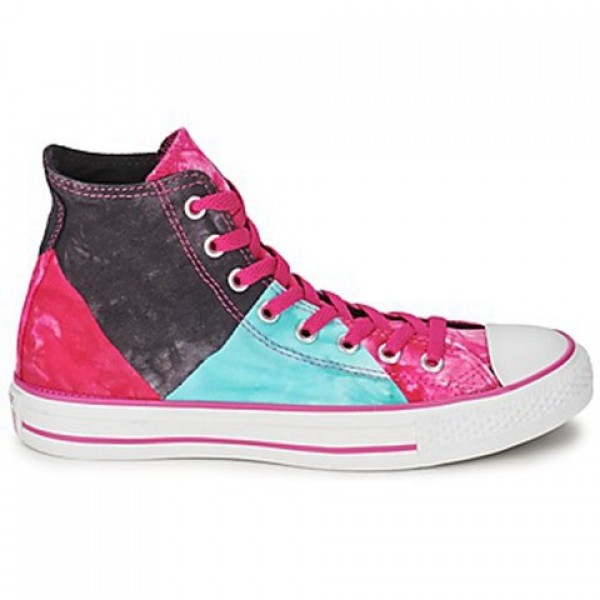 Converse All Star Multi Panel Tie Dye Hi Eglatine ...