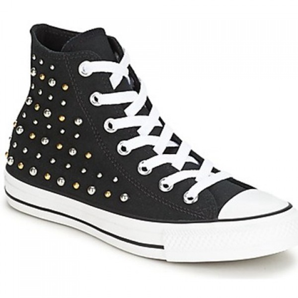 Converse All Star Studs Hi Black Women's Shoes