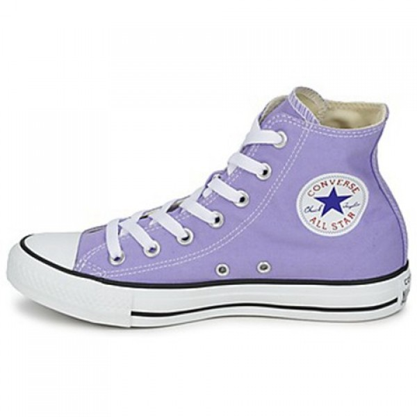 Converse All Star Season Hi Lavender Women's Shoes