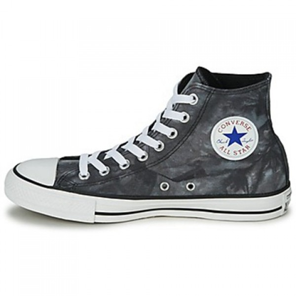Converse All Star Tie Dye Hi Black White Women's Shoes