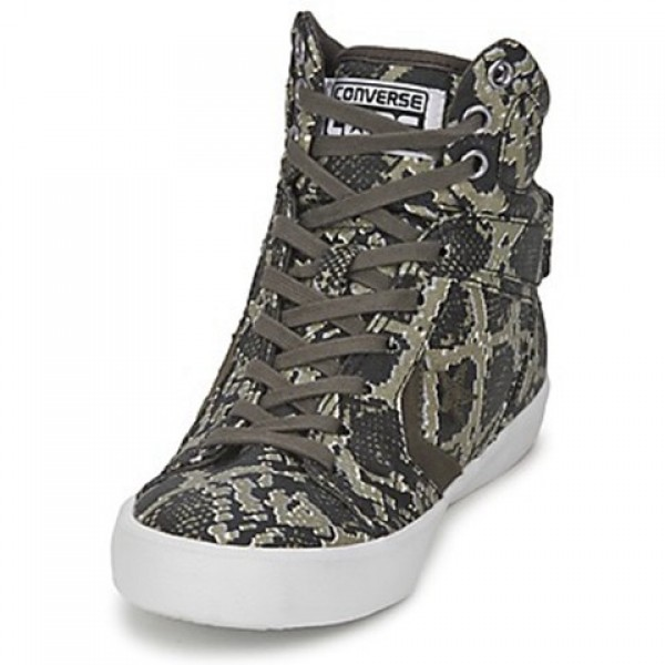 Converse All Star 12 Snake Mid Anthracite Multi Women's Shoes