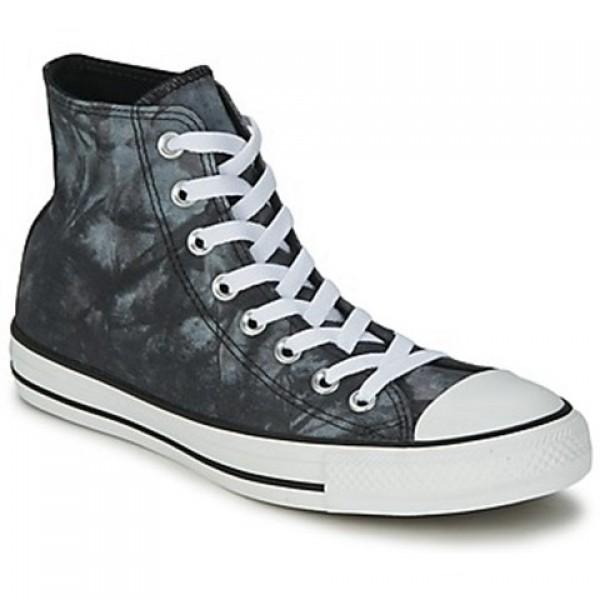 Converse All Star Tie Dye Hi Black White Women's Shoes