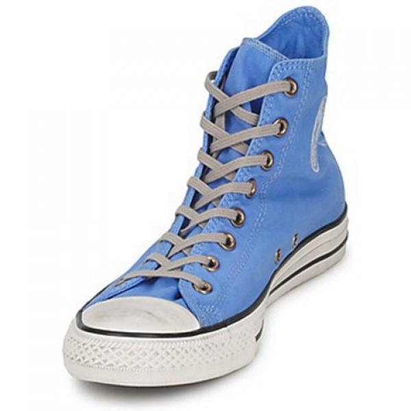 Converse All Star Well Worn Hi Blue Women's Shoes