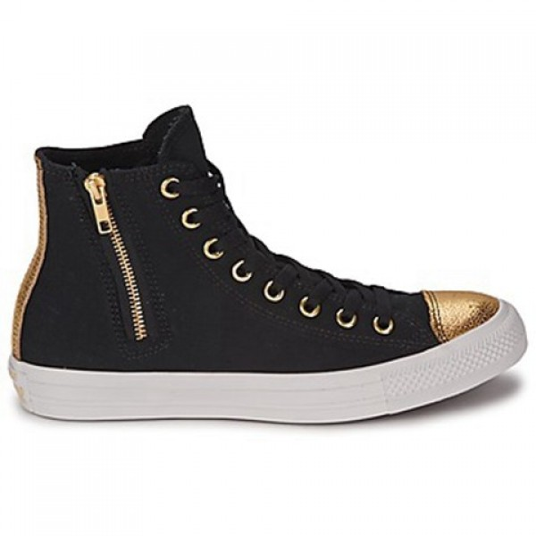 Converse All Star Sparkle Toe Cap Hi Black Women's Shoes