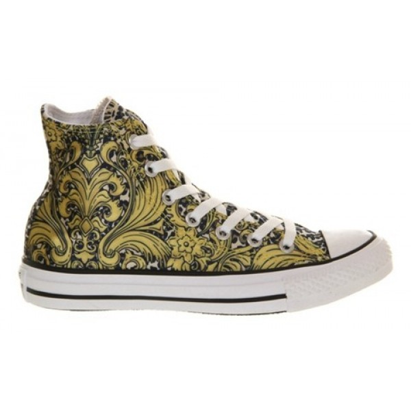 Converse All Star Hi Gold Leopard Luxe Unisex Shoes