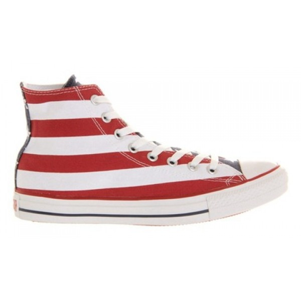 Converse All Star Hi Stars And Bars Unisex Shoes