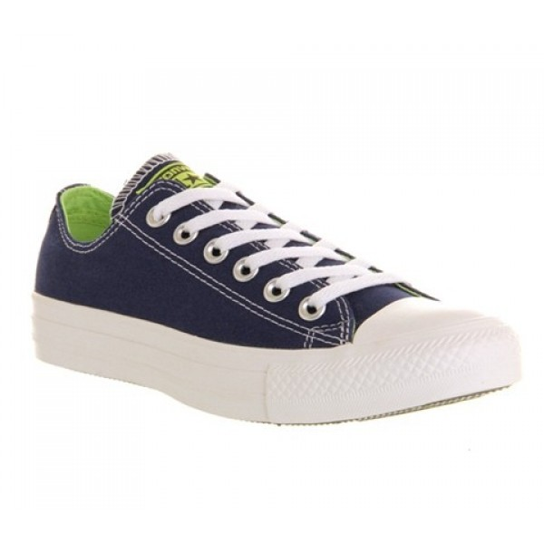 Converse All Star Low Ensign Blue Sharp Green Unis...