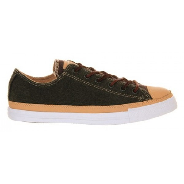 Converse All Star Low Army Melton Wool Cord Tan Unisex Shoes