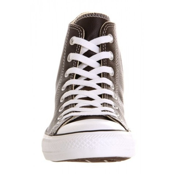 Converse All Star Hi Leather Chocolate Leather St Unisex Shoes