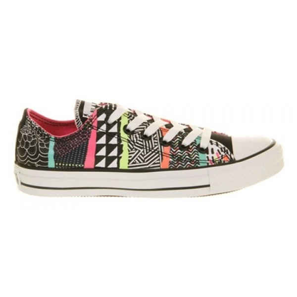 Converse All Star Low Multi Test Card Print Unisex Shoes
