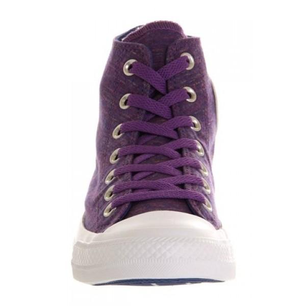 Converse All Star Hi Purple Flecked Marl Unisex Shoes
