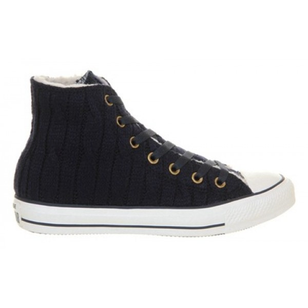 Converse All Star Fashion Leather Hi Rich Gold Jet...