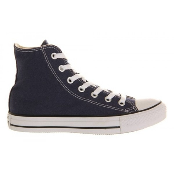Converse All Star Hi Navy Canvas Unisex Shoes
