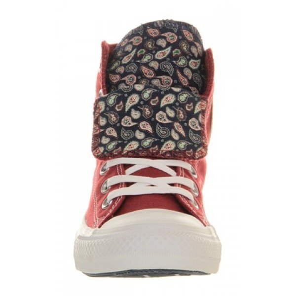 Converse All Star Hi Double Tongue Gooseberry Paisley Exclusive Unisex Shoes