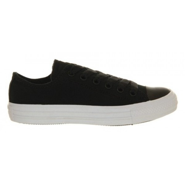 Converse All Star Low Black Clean Plim Unisex Shoes