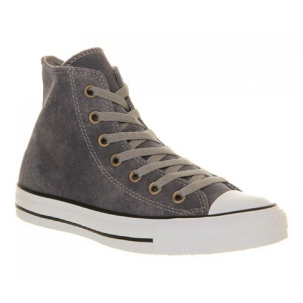 Converse All Star Hi Waxed Drizzle Grey Unisex Sho...