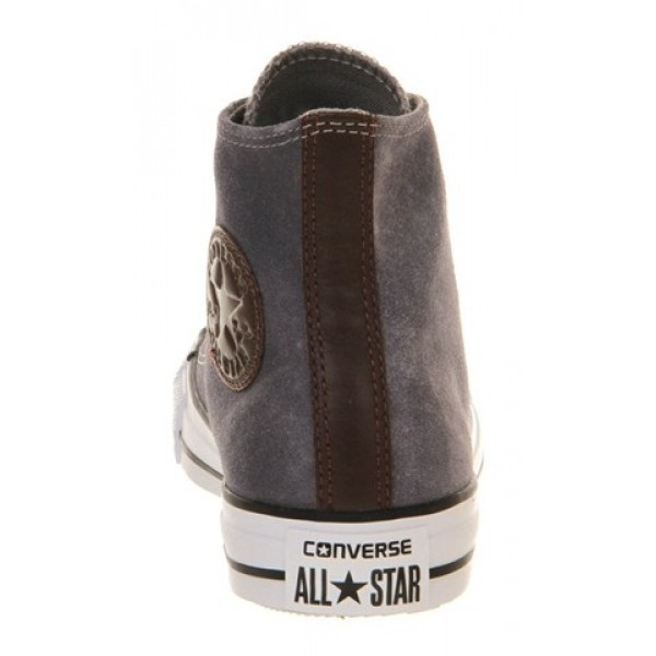 Converse All Star Hi Waxed Drizzle Grey Unisex Shoes