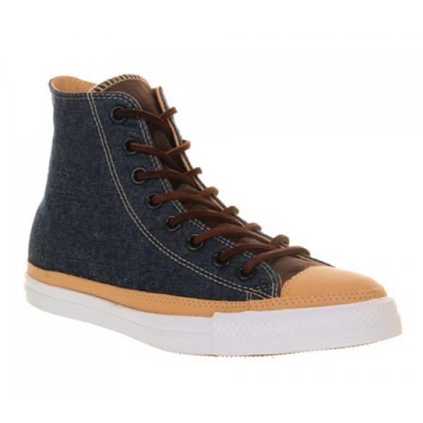 Converse All Star Hi Denim Cord Tan Unisex Shoes
