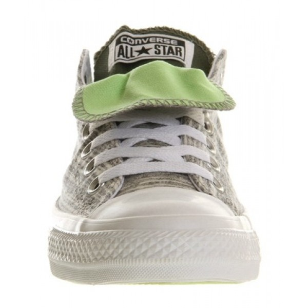 Converse All Star Low Double Tongue Charcoal Marl Four Leaf Clover Exclusive Unisex Shoes