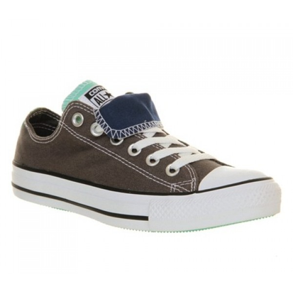 Converse All Star Low Double Tongue Blue Mint Excl...