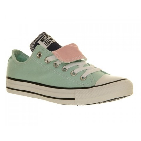 Converse All Star Low Double Tongue Foam Ensign Bl...