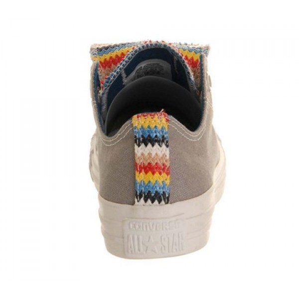 Converse All Star Low Double Tongue Drizzle Multi Woven Exclusive Unisex Shoes