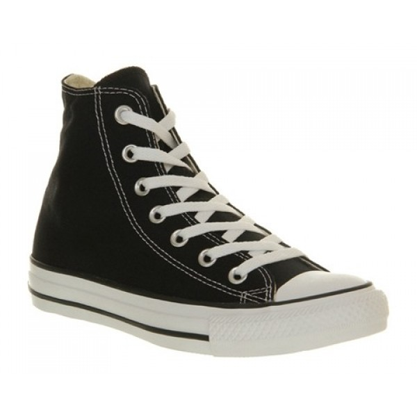 Converse All Star Hi Black Canvas Unisex Shoes