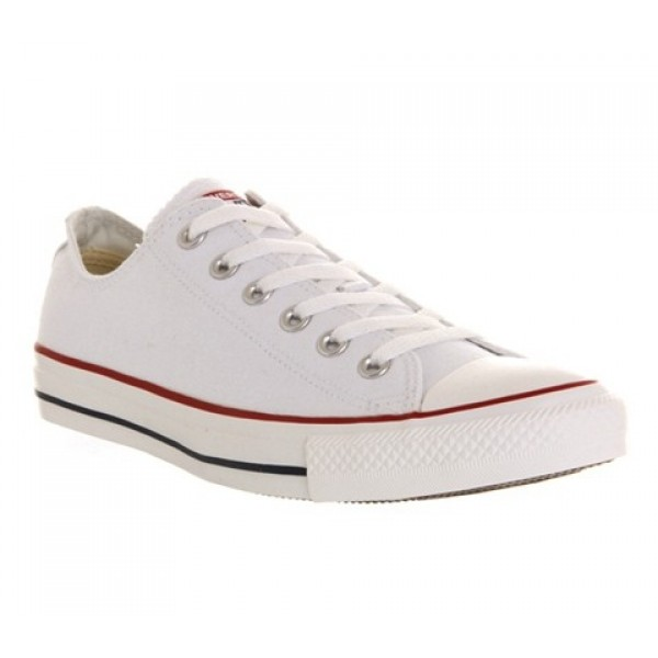 Converse All Star Low White Canvas Unisex Shoes