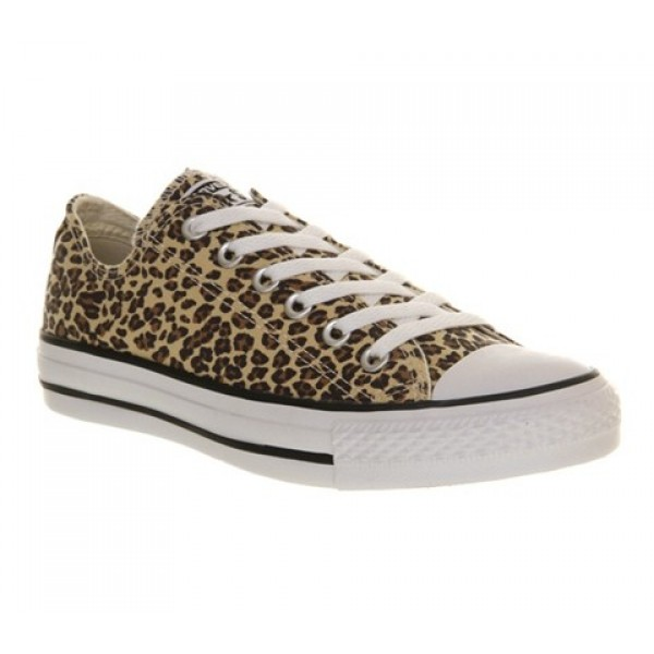 Converse All Star Low Leopard Exclusive Unisex Sho...