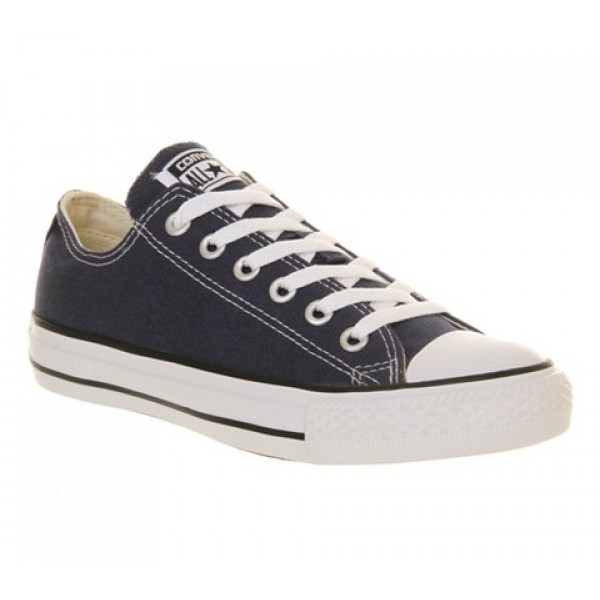 Converse All Star Low Navy Canvas Unisex Shoes
