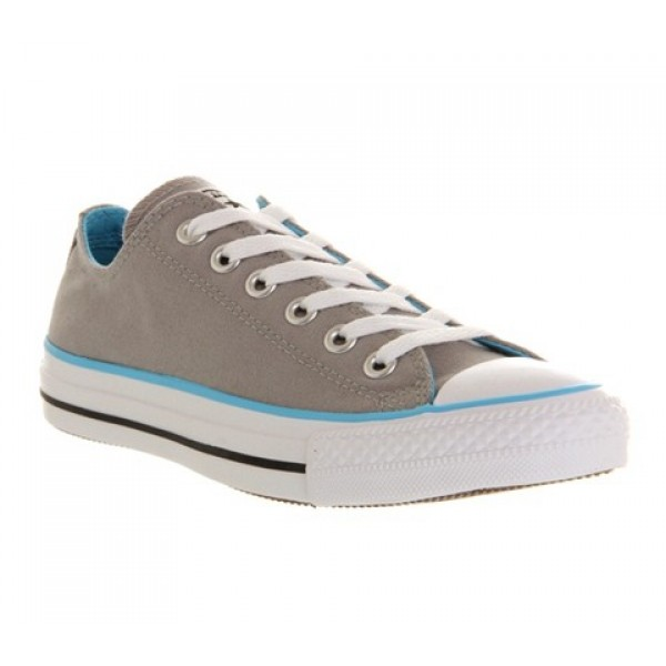 Converse All Star Low Grey Blue Canvas Exclusive Unisex Shoes