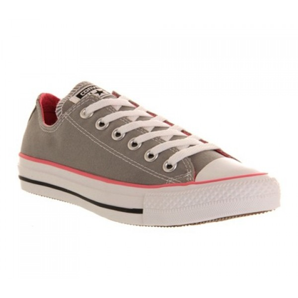 Converse All Star Low Grey Pink Canvas Unisex Shoes