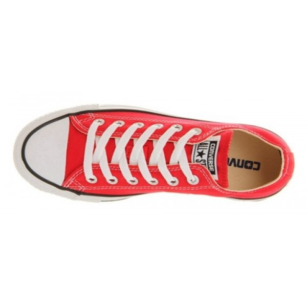 Converse All Star Low Red Canvas Unisex Shoes
